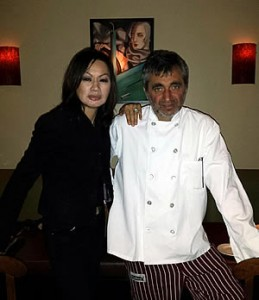Shari Dominici and Chef Vincenzo Cucco